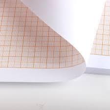 Orange Berechnet Papier Graph Zeichenpapier Grid Papiere A4 A3 A2 A1