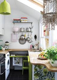 (Image credit: Elsa Young via Design*Sponge). Becca's. Small Kitchen ...