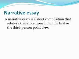 literary terms nonfiction prose writing that deals real 8 narrative essay a narrative essay is a short composition that relates a true story from either the first or the third person point view