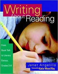amazon com writing about reading from book talk to literary  amazon com writing about reading from book talk to literary essays grades 3 8 9780325005782 janet angelillo books