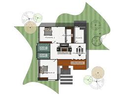 simple two bedroom modern bungalow a
