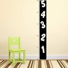 Cute Growth Chart Sayings Amazon Com Pulse Vinyl Vinyl Wall Art Decal Ruler Numbers