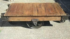 trolley coffee table vintage industrial trolley coffee table antique trolley cart coffee table