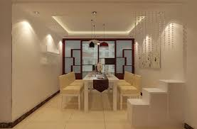 modern sliding doors. Modern Minimalist Dining Room Design With Sliding Doors