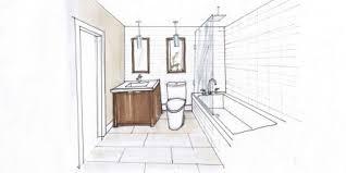 bathroom interior design sketches. 16 Bathroom Interior Design Sketches