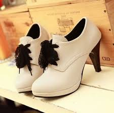 2014 <b>new hot</b> sale round toe lace-up platform <b>high</b> heel shoes for ...