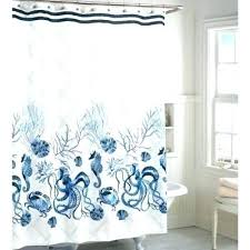 white and blue shower curtains seashell curtain that add diffe accent in bathroom black tiffany curta