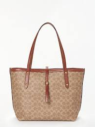 Coach Signature Market Canvas Tote Bag, Multi Sig