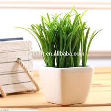 artificial grass potted pot fake plant bush cactus home table decor wall philippines plastic artificial grass