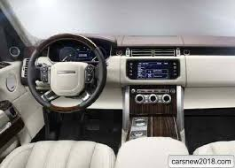2018 land rover range rover autobiography. perfect rover inside 20182019 range rover suv sv autobiography more luxury and is only  present in some detail but general decoration interior  with 2018 land rover range autobiography