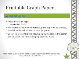 printable graph paper worksheet works printable graph paper