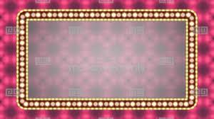 lighting frames. Vintage Flashing Light Neon Sign With Lamps Frame BorderStock Video Footage Lighting Frames