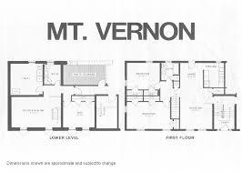 mount vernon model floor plan