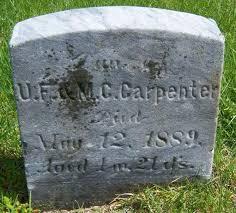 Ida Esabella Carpenter (1889 - 1889) - Genealogy
