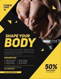 Fitness Brochure Designs Internet Marketing Direct