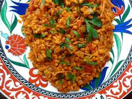 recipe y bulgur pilaf with