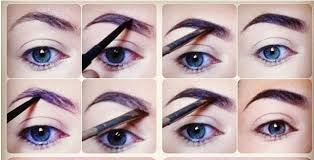 in the tutorial today you can see step by step how to shade your brows in the most easiest way just grab your eyebrow pencil