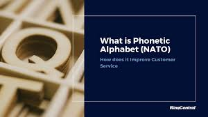 All posters include a 1 white border around the image to allow for future framing and matting, if desired. What Is Phonetic Alphabet Nato And How It Improves Customer Service