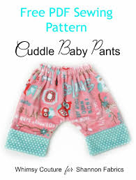Free Sewing Patterns For Baby Delectable Free Baby Pants Sewing Pattern Whimsy Couture Sewing Patterns