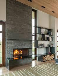 Schon mehrfach brennholz geholt und liefern lassen. Kaminholz Aufbewahrung Innen Praktisch Und Dekorativ Im Wohnzimmer