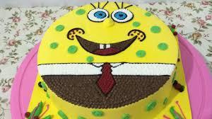 Spongebob Cake Easy Unique How To Make Youtube