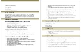 Assembly Line Worker Resume Sample Resume Letters Job Application