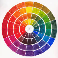 Warm Colour Chart Warm And Cool Watercolor Chart At Getdrawings Com Free For