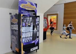 Fundraising Vending Machines Mesmerizing NFL Teams Look To Vending Machines As Sales Option MPR News