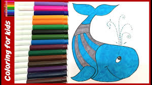 Small Picture coloring pages for toddlers How to color whale coloring pages