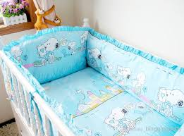 cute snoopy crib bedding sets 100 cotton baby cot set blue cot pers baby sheet soft comfortable crib bedding sets kids bedding sets for boys from