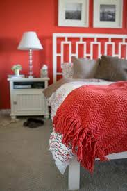 red room furniture. red wall color bedspread warm cosiness room furniture o