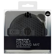 b foldable makeup brush cleaning matt