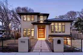 ... Home Decor, Luxury Modern House Design White Wall Building Little  Entrance Cool Home Decor For ...