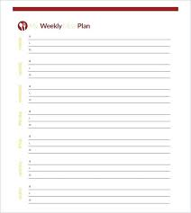 Meal Planning Spreadsheet Excel Menu Planning Template
