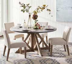 brooks round dining table pottery barn round dining room table
