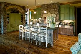 image of stone wall old kitchen remodeling ideas