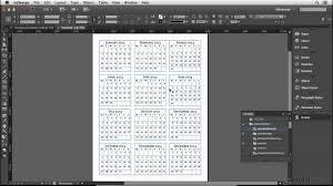 Calendar Wizard 2015 Calendar Design Tutorial Making The Calendar Tables Lynda Com