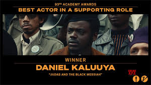 Daniel Kaluuya Wins Best Supporting Actor For Judas And The Black Messiah  At Oscars 2021 - Social News XYZ