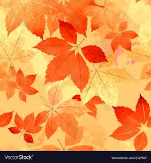 Fall Leaf Pattern Cool Seamless Autumn Leaf Fall Pattern Royalty Free Vector Image