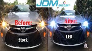 2014 Camry Light Bulb Size How To Upgrade Toyota Camry Headlights To Led Headlight Bulbs