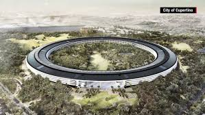 New apple office cupertino June 2017 Cnncom New Glimpses Of Apples spaceship Campus Cnn
