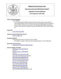117th maine state legislature
