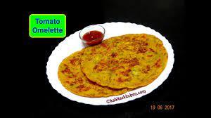 tomato omelette recipe व ज आमल ट