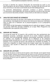 Place Et Conditions De Réalisation De La Polysomnographie Et De La ...