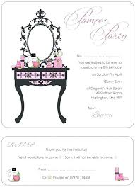 Free Templates For Invitations Printable Free Spa Party Invitations Spa Party Invitation Template Girl