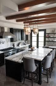 Dark Stained Kitchen Cabinets Kitchen Black Kitchen Cabinets With Glancing Stained Kitchen