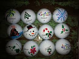 Golf Ball Decorations