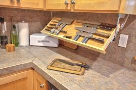 Get The Knife Out Under Counter Drop Down Knife Storage Getting