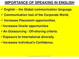Resultado de imagen para speaking importance