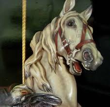 dentzel horse detail of william dentzel c 1920